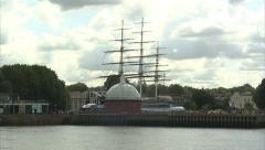 Stock Video Footage of Cutty Sark