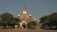 Ananda temple  Stock Footage