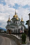 Ukraine - Crimea - Yalta - Church of the Archangel Michael - stock photo
