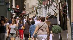 Vieux Lyon - Old town Lyon France Stock Footage