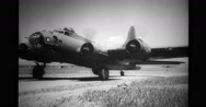 Military aircraft taxiing on airfield Stock Footage