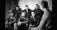 Group of military pilots discussing Stock Footage