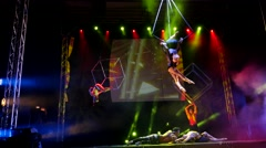 Circus  show Stock Footage