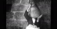 Woman keeping water jug on her head Stock Footage