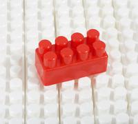 Constructor plastic Stock Photos