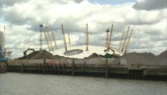 O2 Arena Complete Circle Stock Footage
