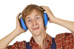 Ear Protection - stock photo