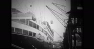 Goods being loaded in Buenos Aires Maru Stock Footage