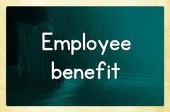 Employee benefit Stock Photos