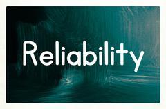 Reliability concept Stock Photos
