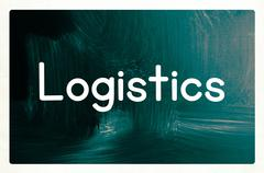 logistics concept - stock photo
