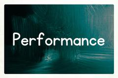 Performance concept Stock Photos