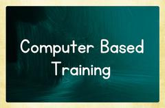 Computer based training Stock Photos