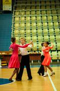 Dancing kids Stock Photos