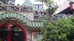 Shenzhen Xixiang Pak Tai Temple Stock Footage