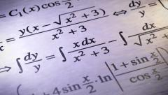 Mathematics. Looping. Stock Footage