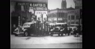 City life returning to normal after San Francisco dock strike Stock Footage