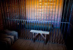 Prison interior Stock Photos
