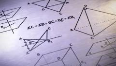 Geometry. Looping. Stock Footage