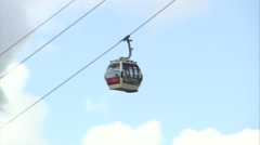 O2 Cable Car Stock Footage