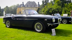 Stock Video Footage of Alfa Romeo1900 Cabrio by Touring