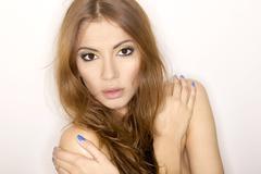 Stock Photo of beautiful adult sensuality woman