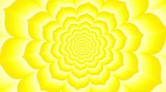 Manipura. Optical  visual  looping illusion clockwise rotation - stock footage