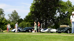 Allard Palm Beach Barchetta MK I Stock Footage