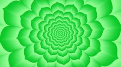 Anahata. Optical  visual  looping illusion counterclockwise rotation - stock footage