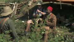 WW1 Prisoners of War 1 Stock Footage