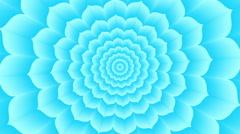 Vishuddha. Optical  visual  looping illusion counterclockwise rotation - stock footage