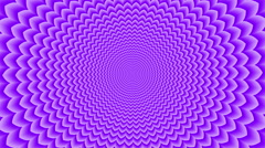 Sahasrara . Optical  visual  looping illusion clockwise rotation - stock footage