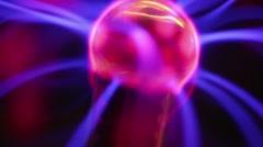 Plasma Sphere Stock Footage