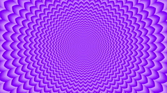 Sahasrara . Optical  visual  looping illusion counterclockwise rotation Stock Footage