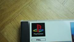 Sony PlayStation DVD logo - stock footage