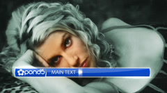 Glossy Lower Third Stock After Effects
