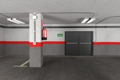 Stock Illustration of garage