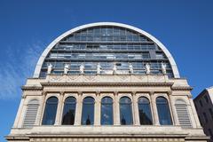 The opera house in lyon Stock Photos