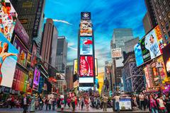 Stock Photo of times square in new york city