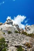 Mount rushmore monument in south dakota Stock Photos