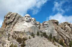 Mount rushmore monument in south dakota Stock Photos