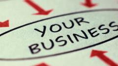 Vision To Your Business Stock Footage