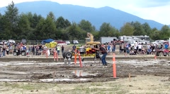 Mud drag race cars, 2 scenes. Stock Footage