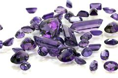 Pile of Amethyst Stock Photos