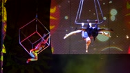 Stock Video Footage of Circus artist  show