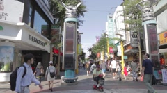 Ximen - 180 degrees in the center Stock Footage