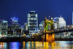 Cincinnati downtown overview Kuvituskuvat