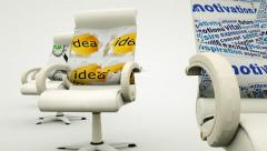 Office chairs Stock Footage