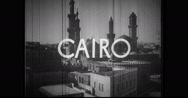 Mosque in Cairo Stock Footage