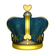Kings crown Stock Illustration